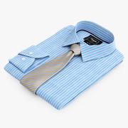 Koszula Krawat 3 3d model