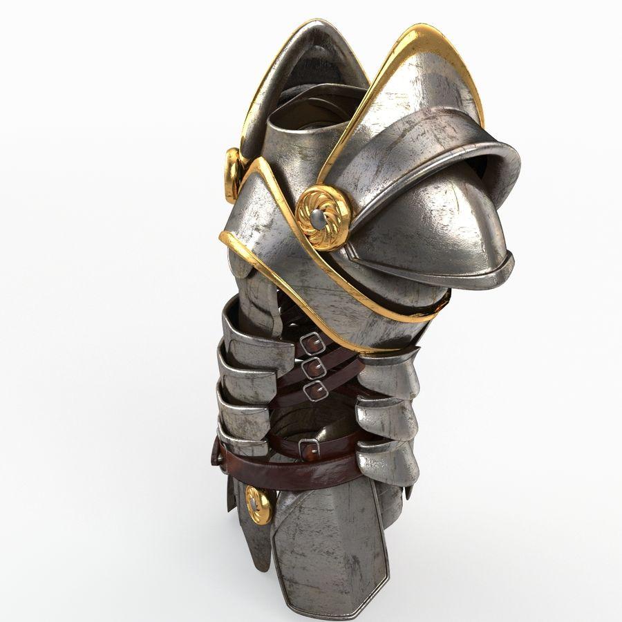 Armour v2 royalty-free 3d model - Preview no. 4
