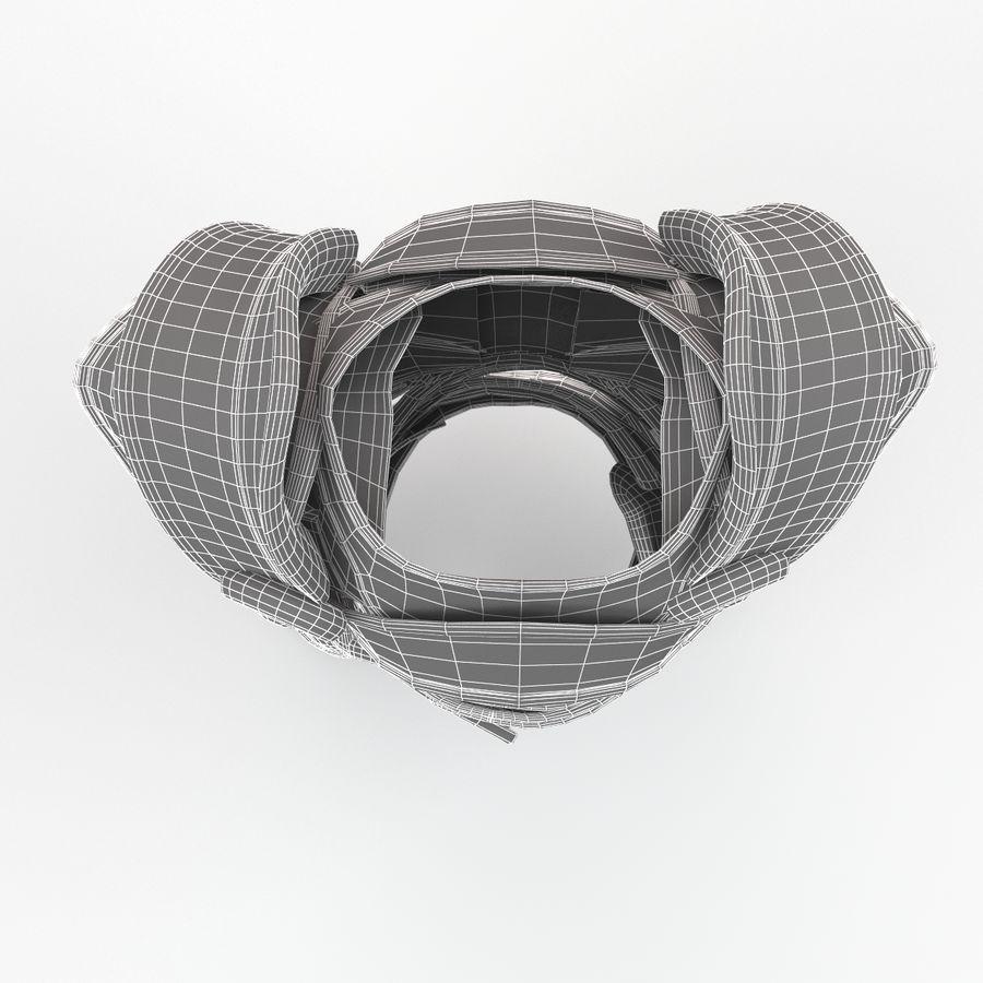 Armour v2 royalty-free 3d model - Preview no. 12
