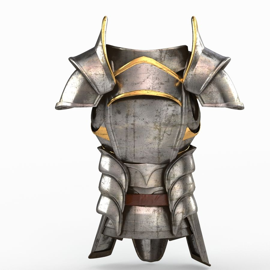 Armour v2 royalty-free 3d model - Preview no. 3