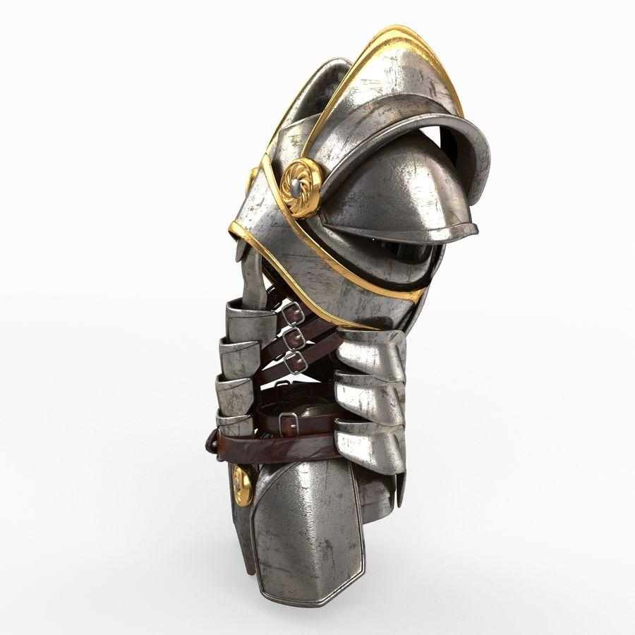Armour v2 royalty-free 3d model - Preview no. 2