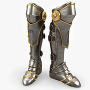 Armor Boot v2 3d model