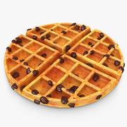 Waffle Raisins 3d model