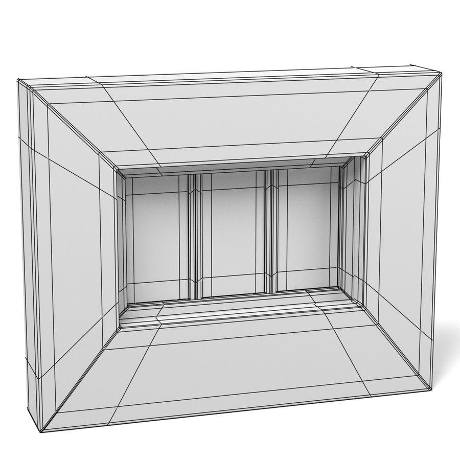 Panjurlu Pencere2 royalty-free 3d model - Preview no. 9