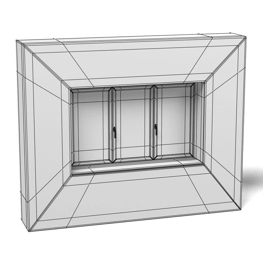 Panjurlu Pencere2 royalty-free 3d model - Preview no. 10