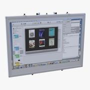 Tablica interaktywna 3d model