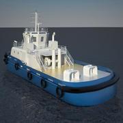 Harbour Tug Boat 3d model