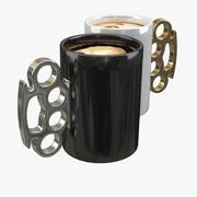 Чашка кофе 3d model