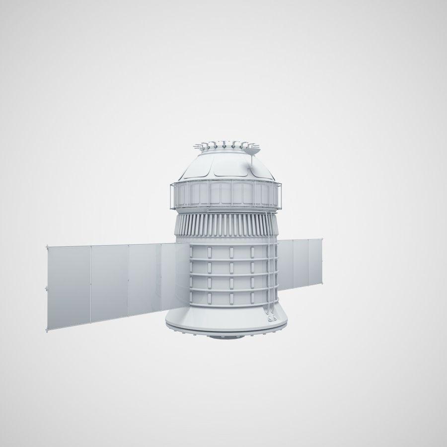 satélite royalty-free 3d model - Preview no. 3