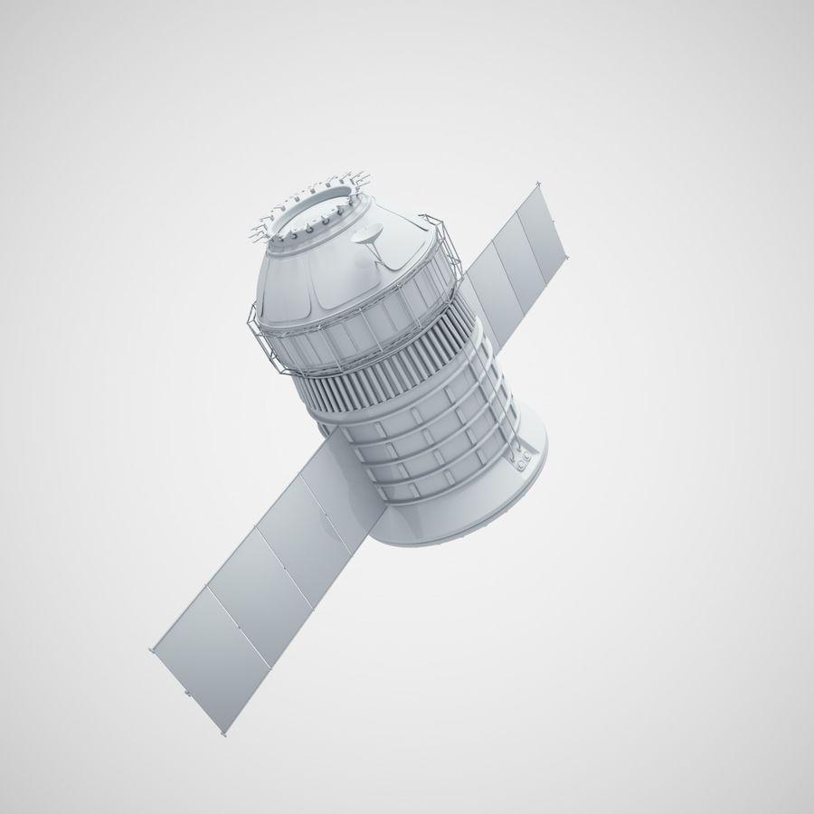 satélite royalty-free 3d model - Preview no. 4