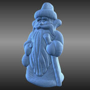 Ded Moroz Russian New Year Character 3d model