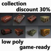 Verzameling van containers 3d model