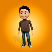 Chłopak 3d model