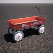 Radio Flyer Childrens Wagon 3d model
