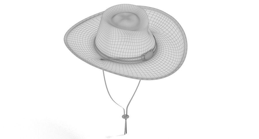 黑帽(女性) royalty-free 3d model - Preview no. 5