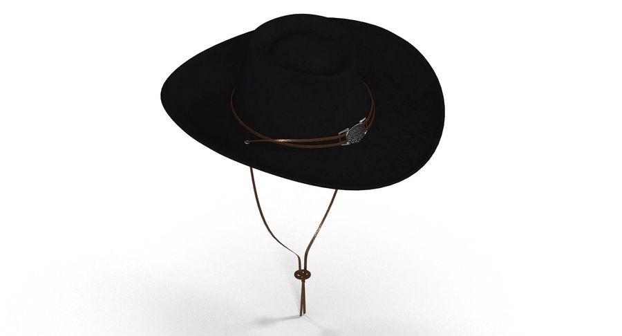 黑帽(女性) royalty-free 3d model - Preview no. 1