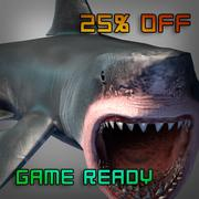 White Shark or Megalodon 3d model