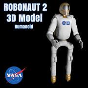 Nasa Robonaut 2 - modelo 3D com sistema de pernas 3d model