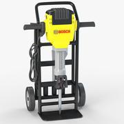 Electric Jackhammer Bosch 3d model