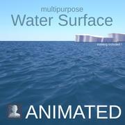 Ocean Water Surface 3d model