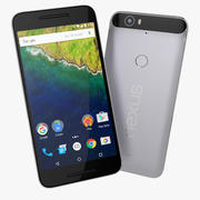 Google Nexus 6P Huawei Smartphone Flagship 3d model