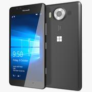 Microsoft Lumia 950 Preto 3d model