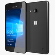 Microsoft Lumia 550 Preto 3d model