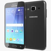 Samsung Galaxy J2 Black 3d model