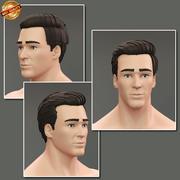 Male Portrait 3d model