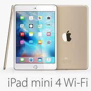 iPad mini 4 Wi-Fi Gold 3d model