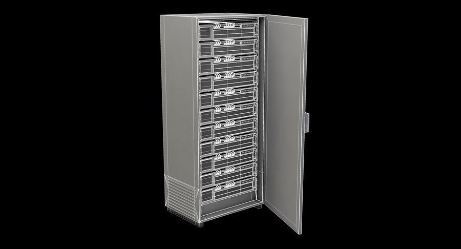 Server rack royalty-free 3d model - Preview no. 9