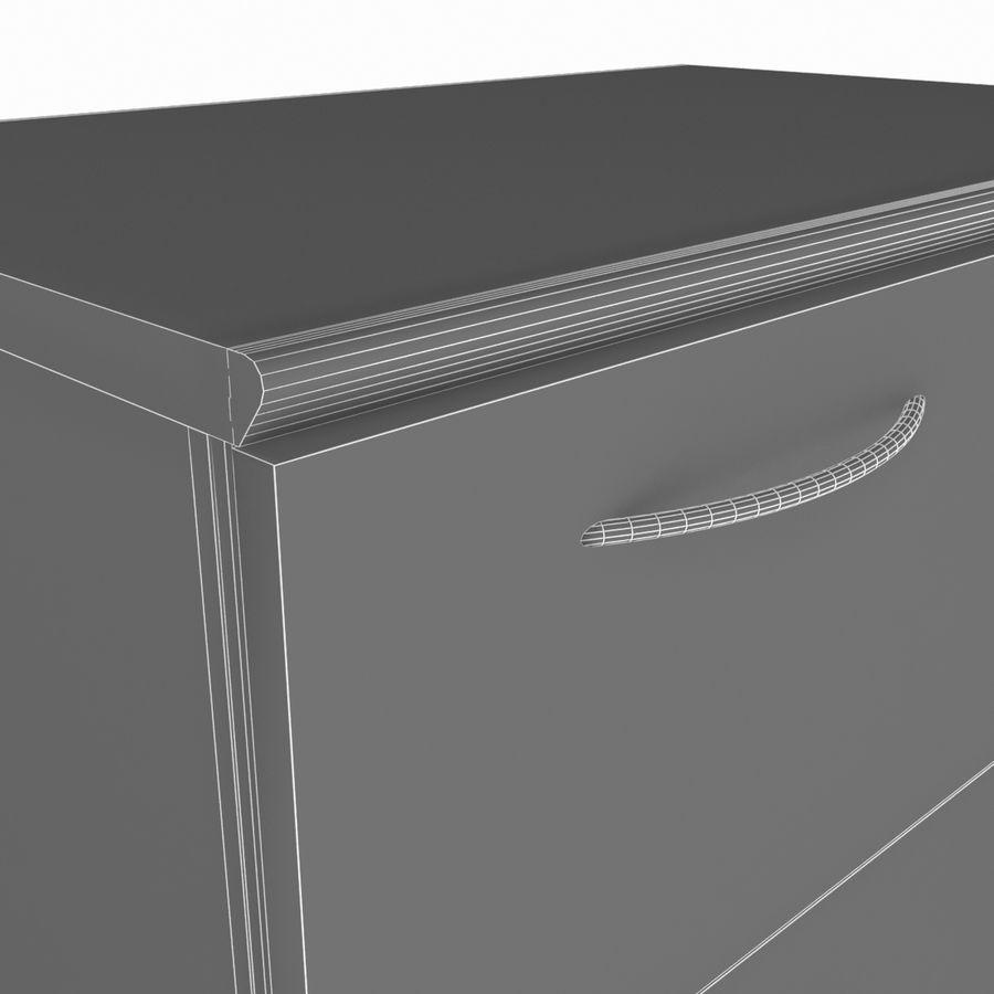 사무실 내각 royalty-free 3d model - Preview no. 5
