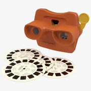 Stereoscope View Master Set 3d model