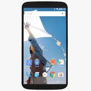 Motorola Nexus 6 Cloud White modelo 3d