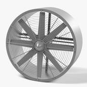 Большой Fan6 3d model