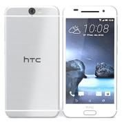HTC One A9 White 3d model