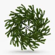 Kerst krans 3d model
