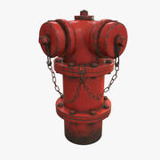 Chicago Fire Hydrant 3d model