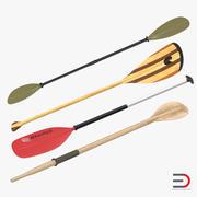 Paddles 3D Models Collection 2 3d model