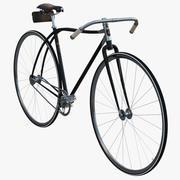 Bicicleta de carreras retro modelo 3d