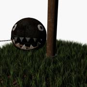 Chomp en cadena modelo 3d