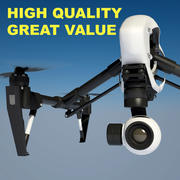 DJI Inspire 1 Drone Quadcopter 3d model