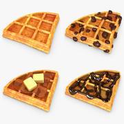 Waffle V2 Set 3d model