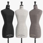 Stockman Mannequin Busts 3d model