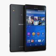 Sony Xperia M4 Aqua Black 3d model