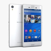 Sony Xperia M4 Aqua Blanc 3d model