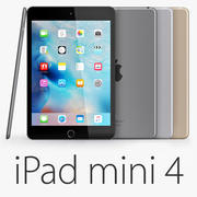 iPad mini 4 Wi-Fi e Wi-Fi + Celular 3d model