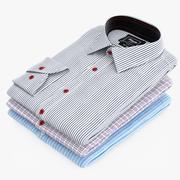 Koszule ułożone 3d model