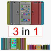 iPod Collection 2 3d model