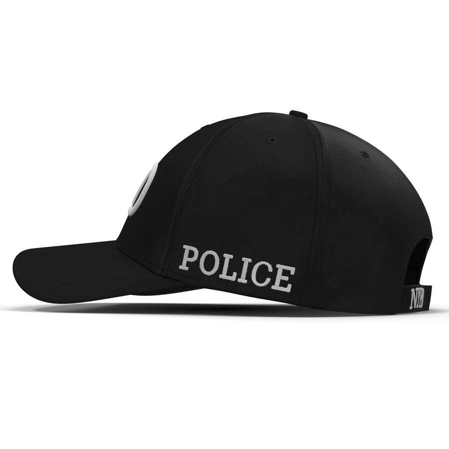 NYPD polis hatt royalty-free 3d model - Preview no. 11